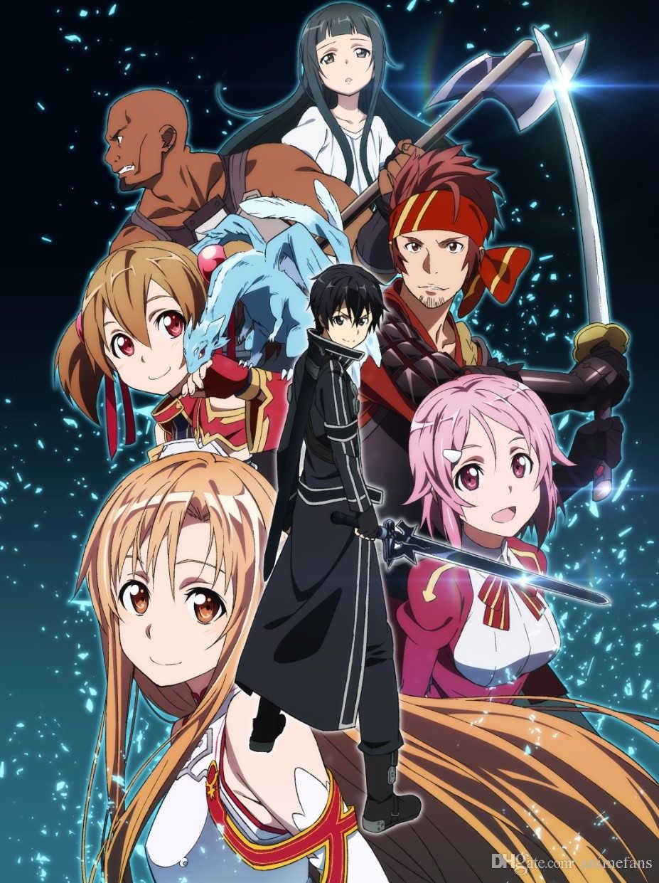 Sword Art Online Español Latino Temporada 1 HD