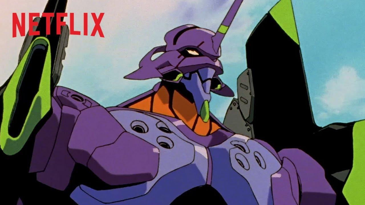 Neon Genesis Evangelion (1995) Dual Latino Japonés HD 1080p, 720p NETFLIX