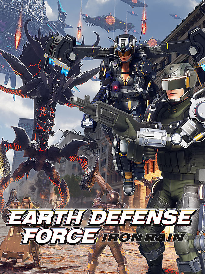 EARTH DEFENSE FORCE IRON RAIN + DLC UNLOCKER