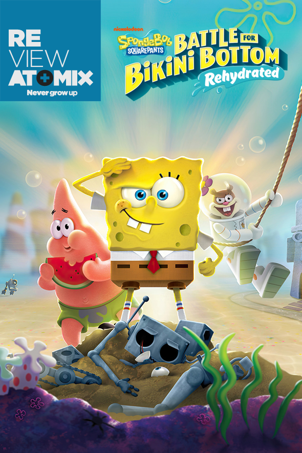 Bob Esponja (SpongeBob SquarePants): Battle for Bikini Bottom – Rehydrated