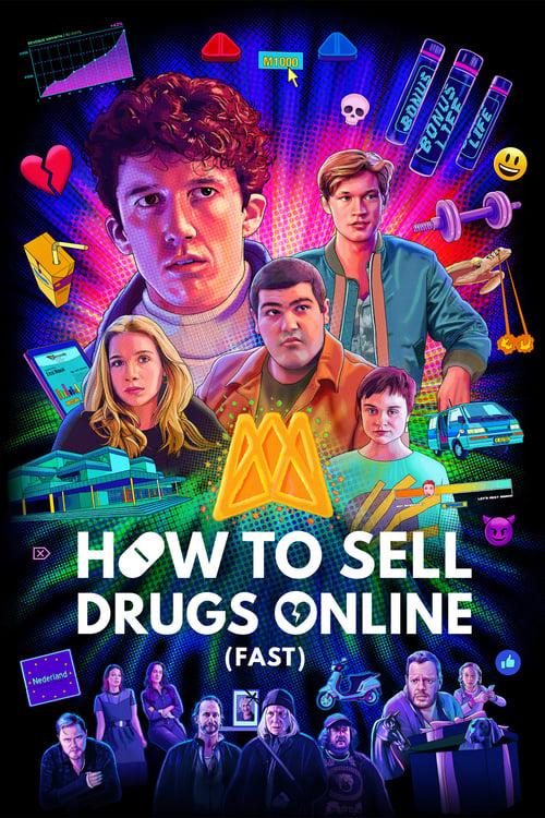 Cómo Vender Drogas Online Temporada [2/2] HD 1080p Audio Dual Latino Inglés