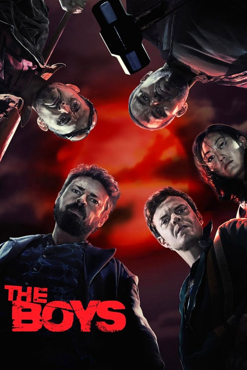 The Boys Temporada 1 Latino-Inglés-Castellano HD 1080p MKV